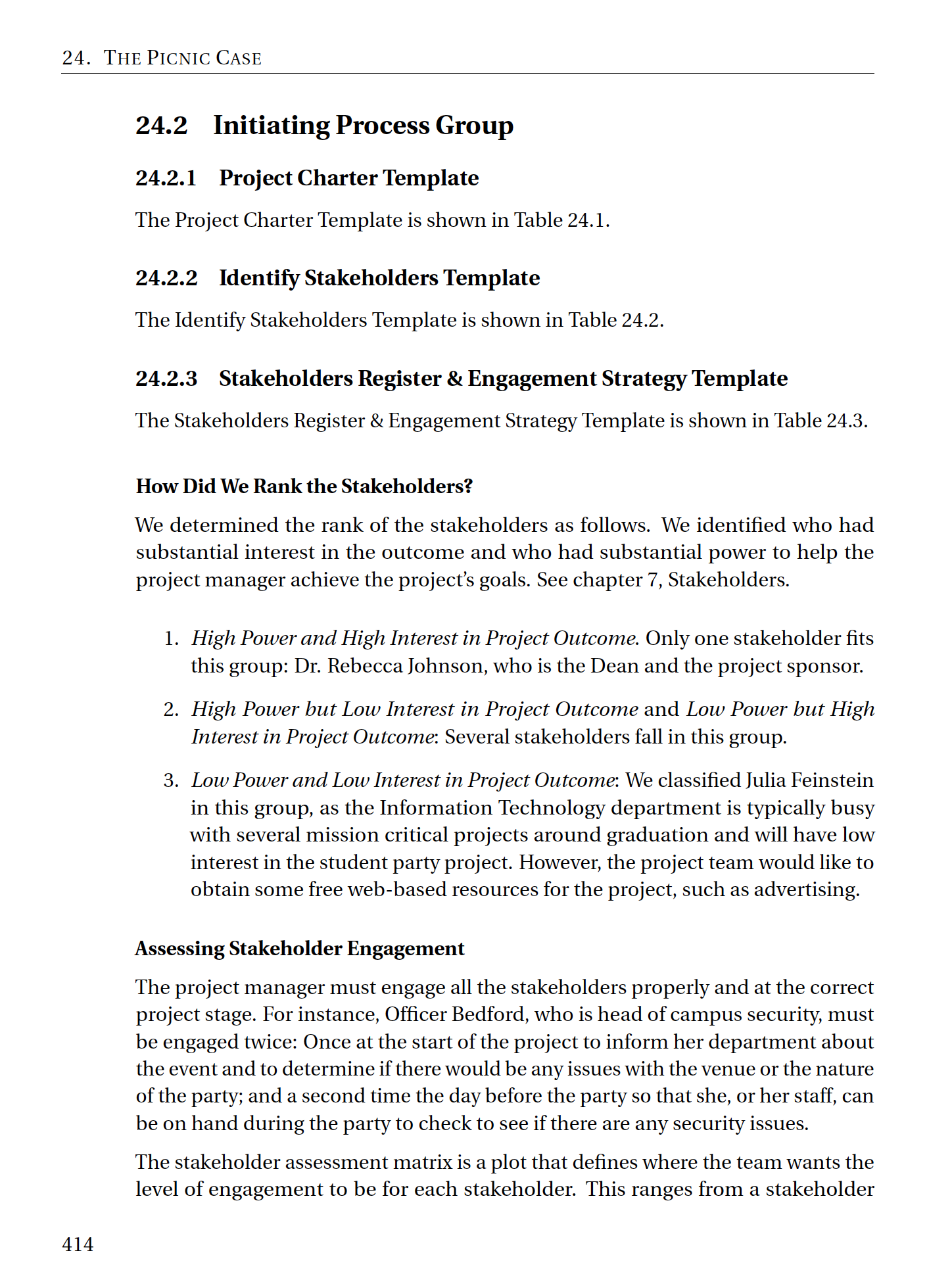 Sample Projects The Art Science Of Project Management